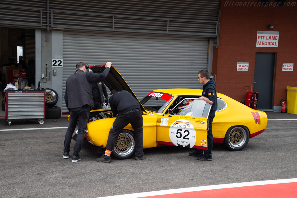 Ford Capri 2600 RS - Chassis: GAECLE42482 - Driver: Yves Scemama - 2019 Spa Classic