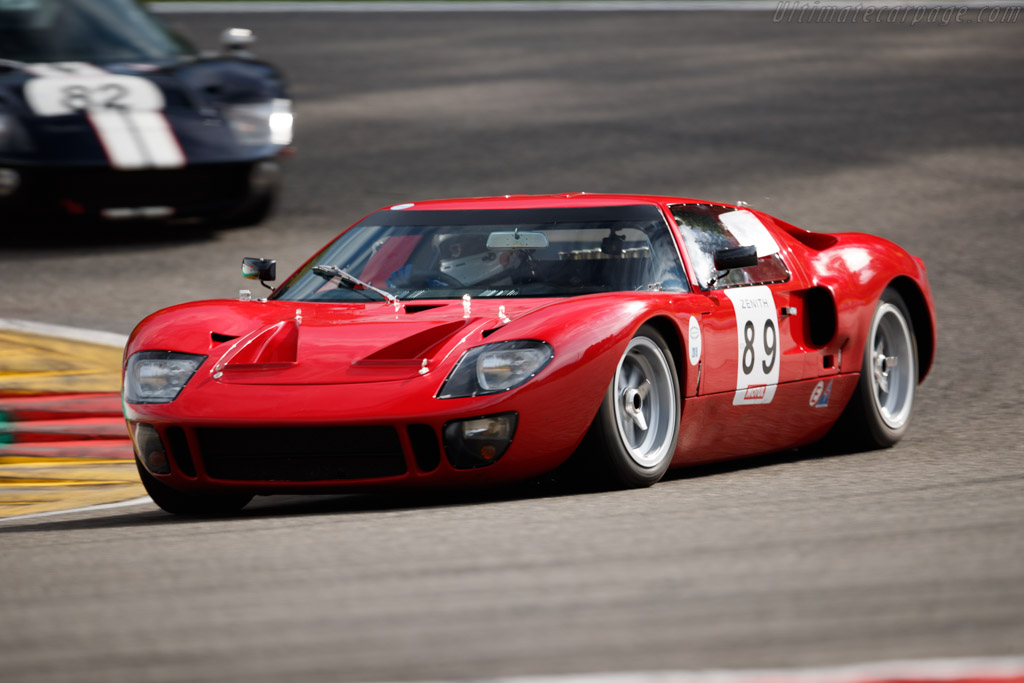 Ford GT40 - Driver: Olivier Galant - 2019 Spa Classic