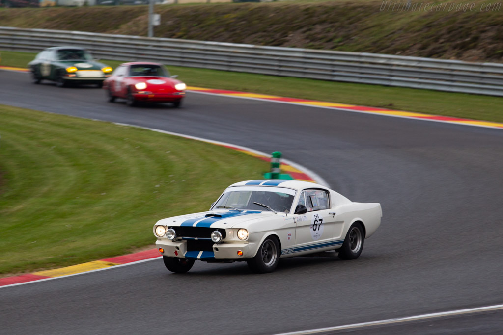Ford Shelby Mustang GT350 - Chassis: SFM6S508 - Driver: Thomas Studer - 2019 Spa Classic