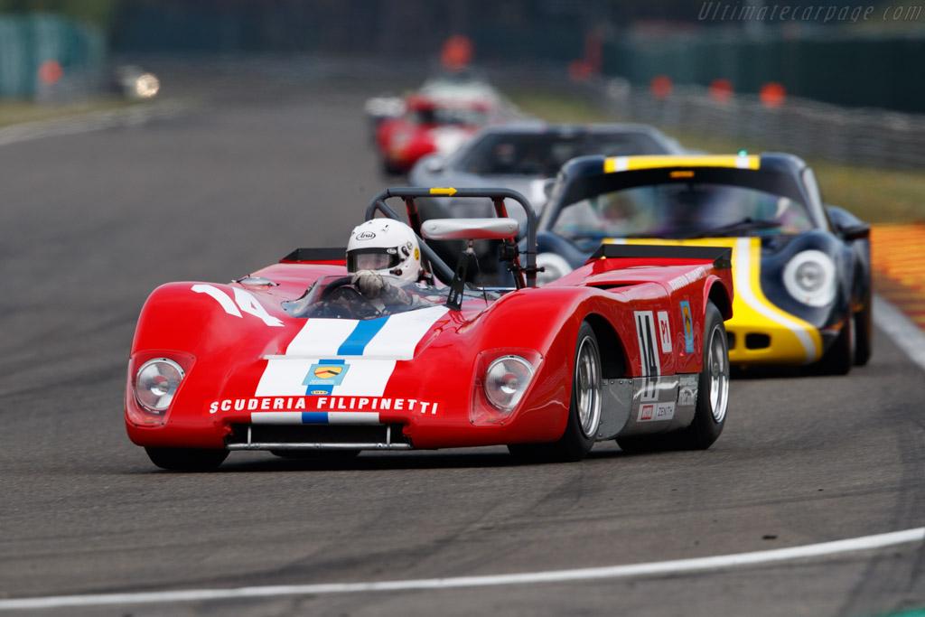 Lola T212 - Chassis: HU18 - Driver: Mauro Poponcini - 2019 Spa Classic