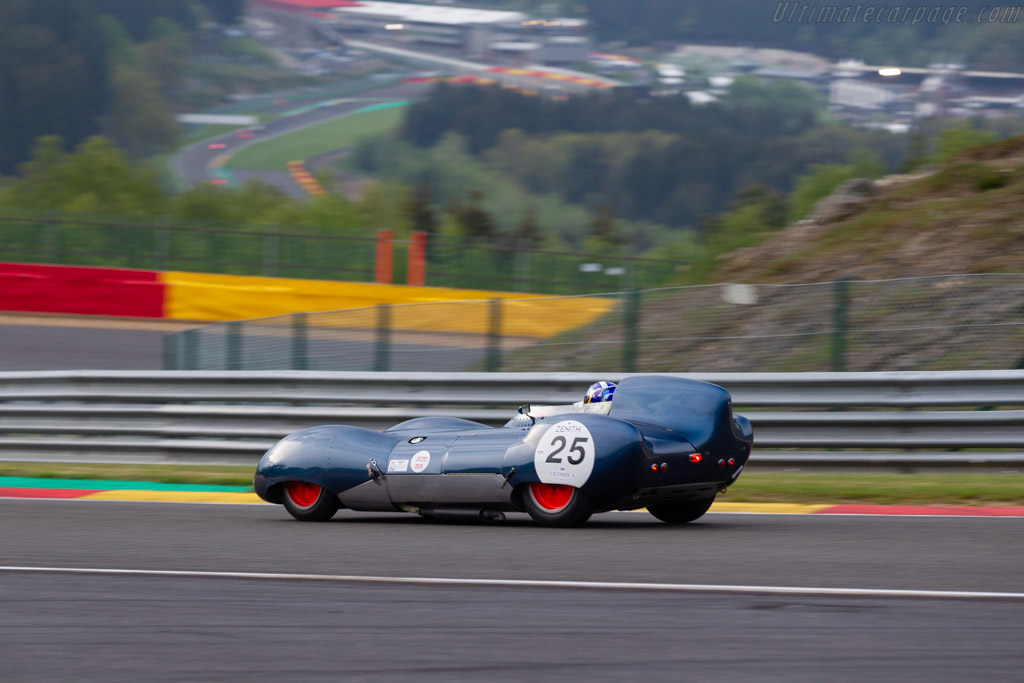 Lotus Eleven - Chassis: LM026 - Driver: Sandy Watson / Andrew Kirkaldy - 2019 Spa Classic