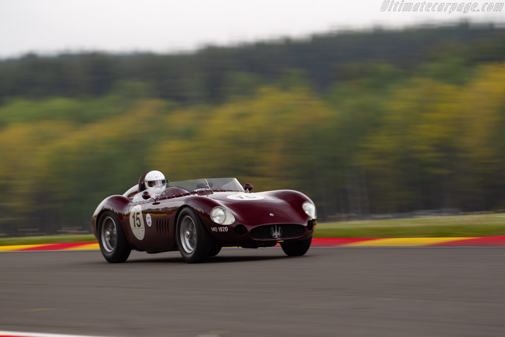 Maserati 300S - Chassis: 3082 - Driver: Martin Halusa / Lukas Halusa - 2019 Spa Classic