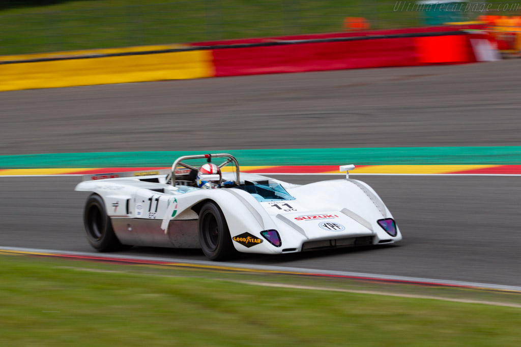 McLaren M8C DFV - Chassis: 70-01 - Driver: Marc Devis / Martin O'Connell - 2019 Spa Classic