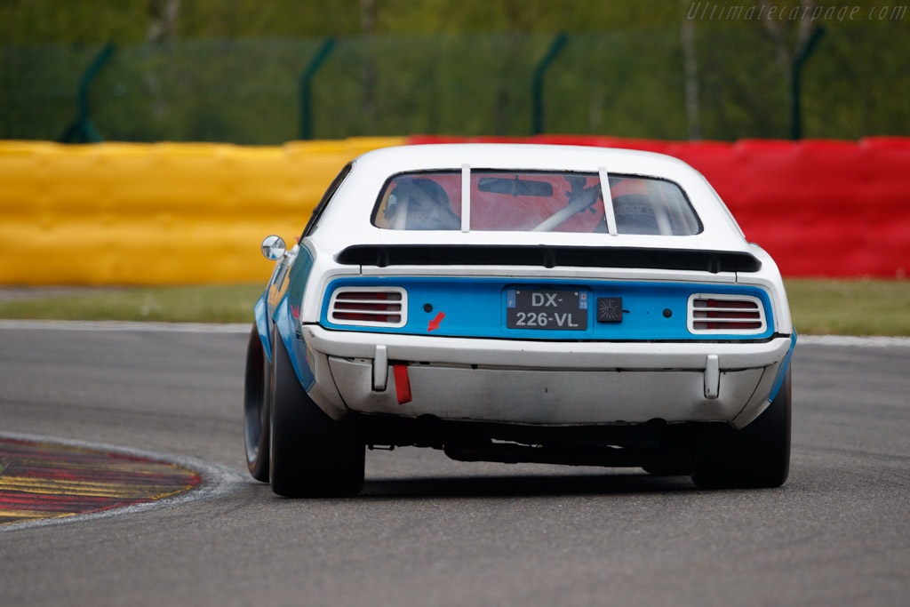 Plymouth Hemicuda  - Driver: Christophe Schwartz / Olivier Monot - 2019 Spa Classic