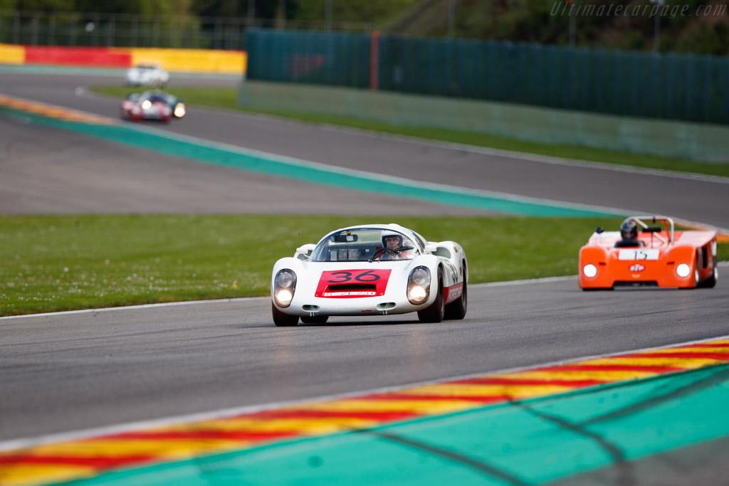 Porsche 910 - Chassis: 910-005 - Driver: Uwe Bruschnik - 2019 Spa Classic