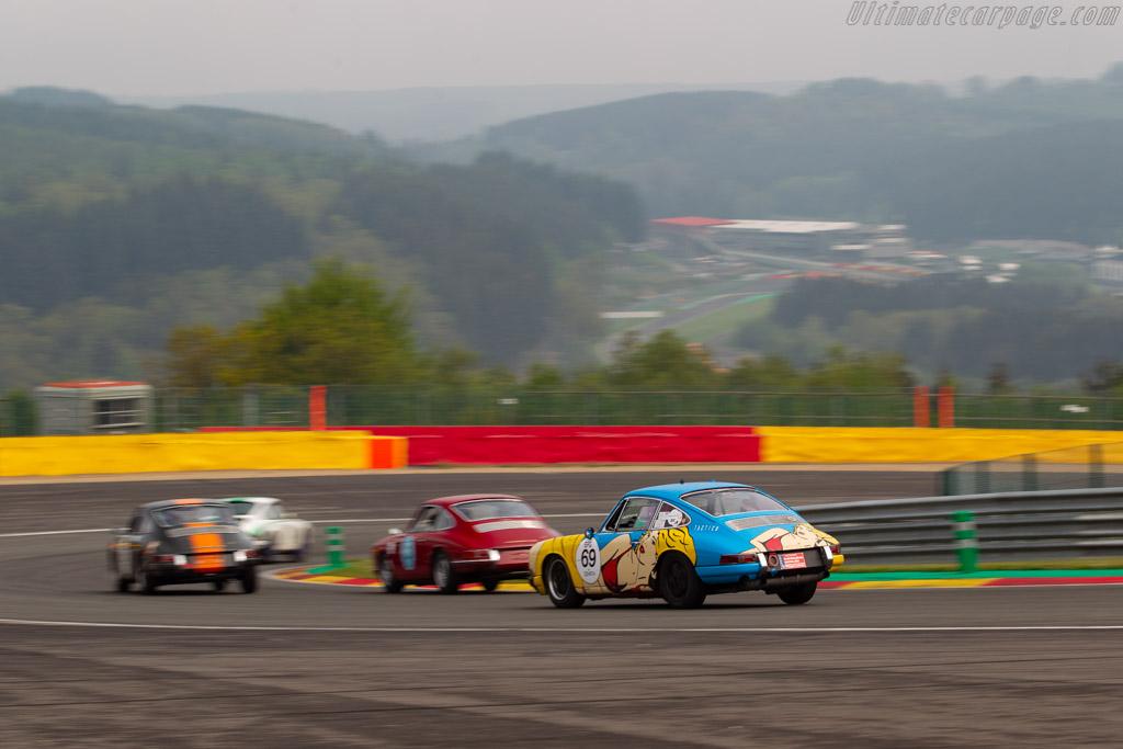 Porsche 911  - Driver: Johan-Frank Dirickx / Quinten Devreker - 2019 Spa Classic