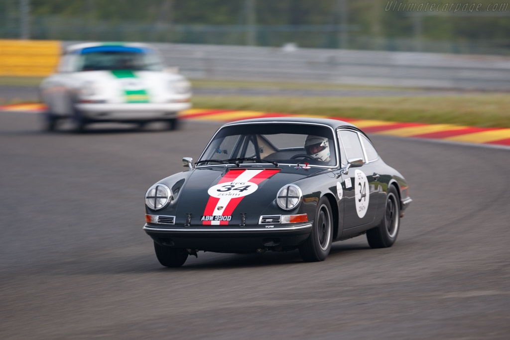 Porsche 911  - Driver: Martin Halusa / Lukas Halusa - 2019 Spa Classic