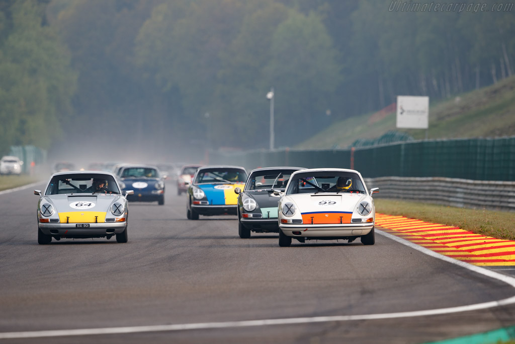 Porsche 911 - Chassis: 302806 - Driver: Sandy Watson / Andrew Kirkaldy - 2019 Spa Classic