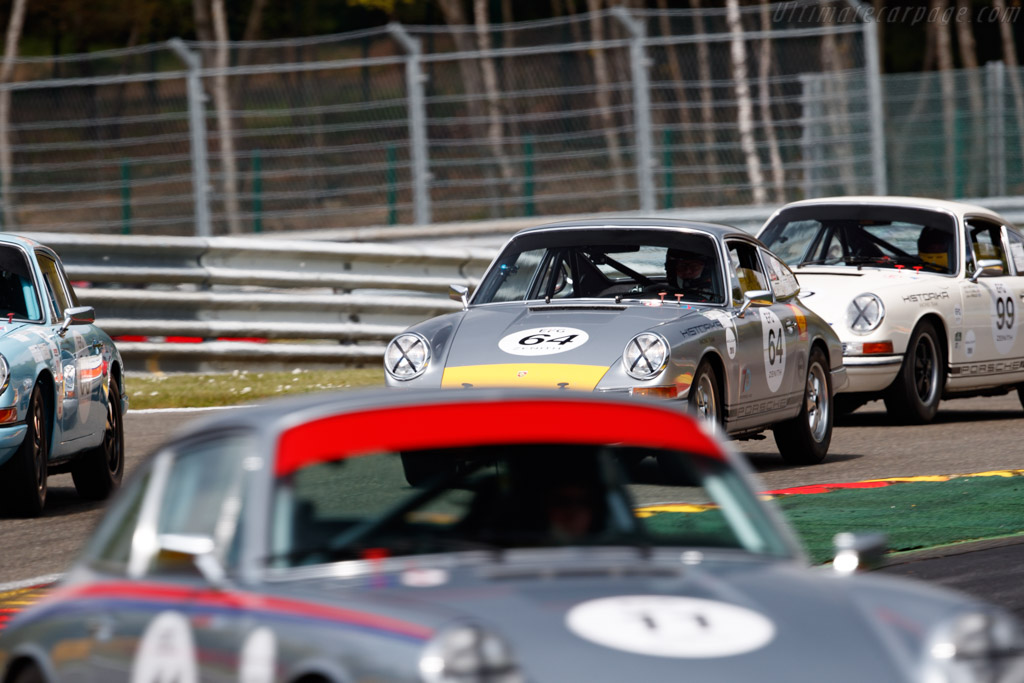 Porsche 911 - Chassis: 300241 - Driver: Andrew Smith / Oliver Bryant - 2019 Spa Classic