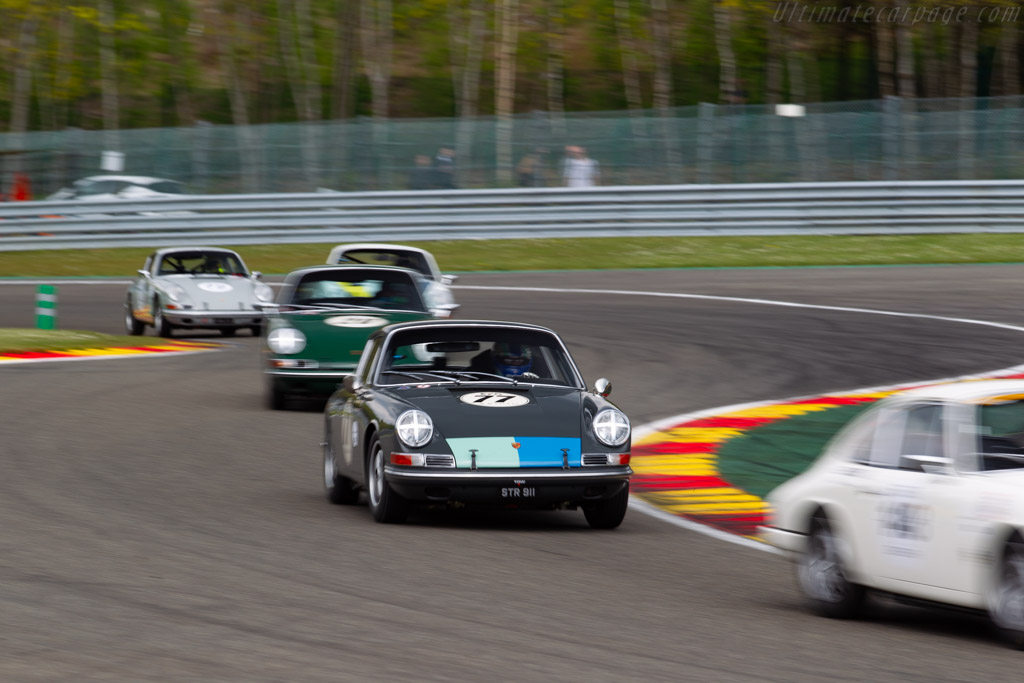 Porsche 911 - Chassis: 302285 - Driver: Mark Sumpter / Mike Jordan - 2019 Spa Classic