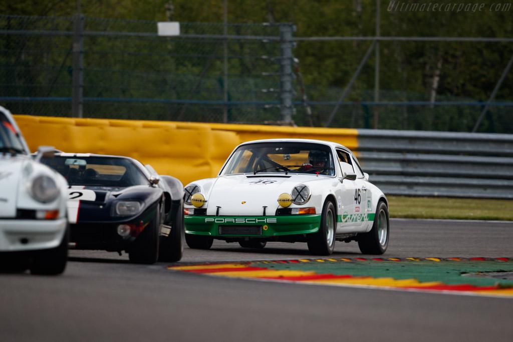 Porsche 911 Carrera RS 2.7  - Driver: Christian Bouriez - 2019 Spa Classic