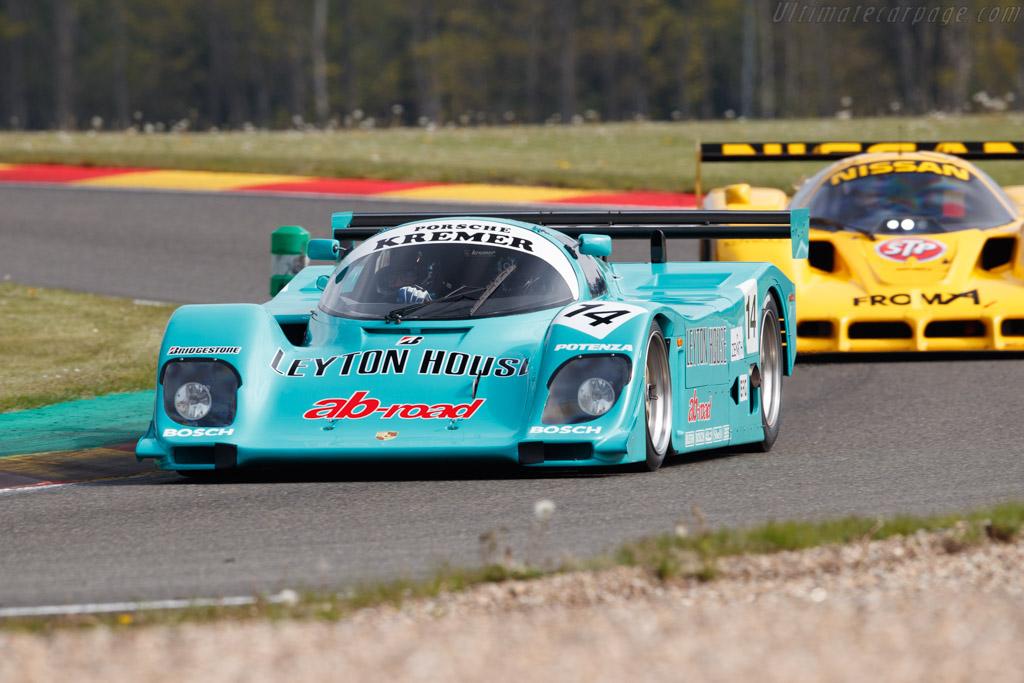 Porsche 962CK6 - Chassis: CK6-01(02) - Driver: Philippe Scemama - 2019 Spa Classic