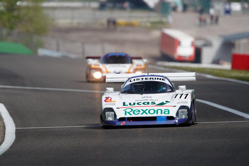 Spice SE88C - Chassis: SE88C-003 - Driver: Thomas Dozin - 2019 Spa Classic