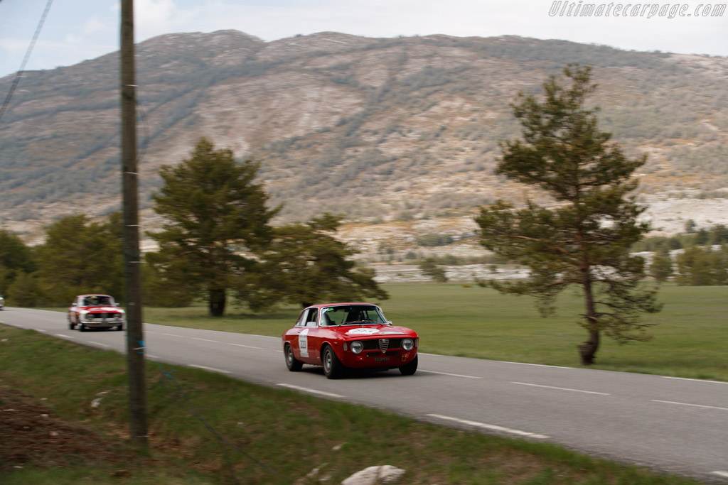 Alfa Romeo Giulia Sprint GTA - Chassis: AR613483 - Driver: Ivan Vercoutere / Charles Rupp  - 2018 Tour Auto