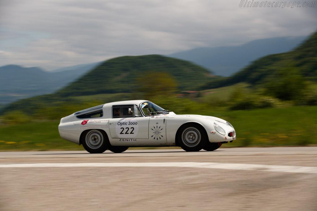 Alfa Romeo Giulia TZ1 - Chassis: AR750002 - Driver: Ombeline De Clermont-Tonnerre / Fabrice Bourgeois  - 2018 Tour Auto
