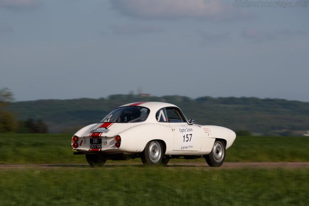 Alfa Romeo Giulietta Sprint Speciale - Chassis: AR177254 - Driver: Pierre Macchi / Isabelle Martrou - 2018 Tour Auto