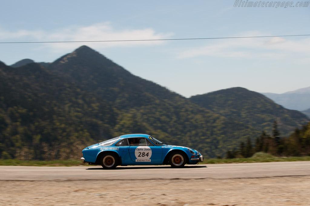 Alpine A110 1600 S  - Driver: Robert Kauffman / Yannick Roche  - 2018 Tour Auto