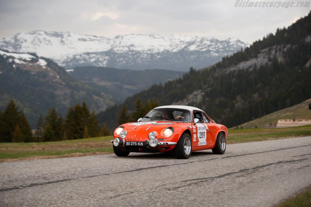 Alpine A110 1600 S  - Driver: Loïc Duval / Jean Baptiste Mayer  - 2018 Tour Auto