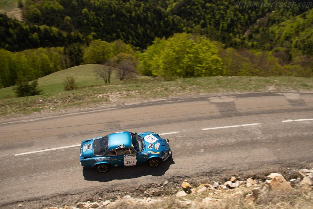 Alpine A110 1800 Gr.IV - Chassis: 18010 - Driver: Christian Chambord / Patrick Fourestie  - 2018 Tour Auto