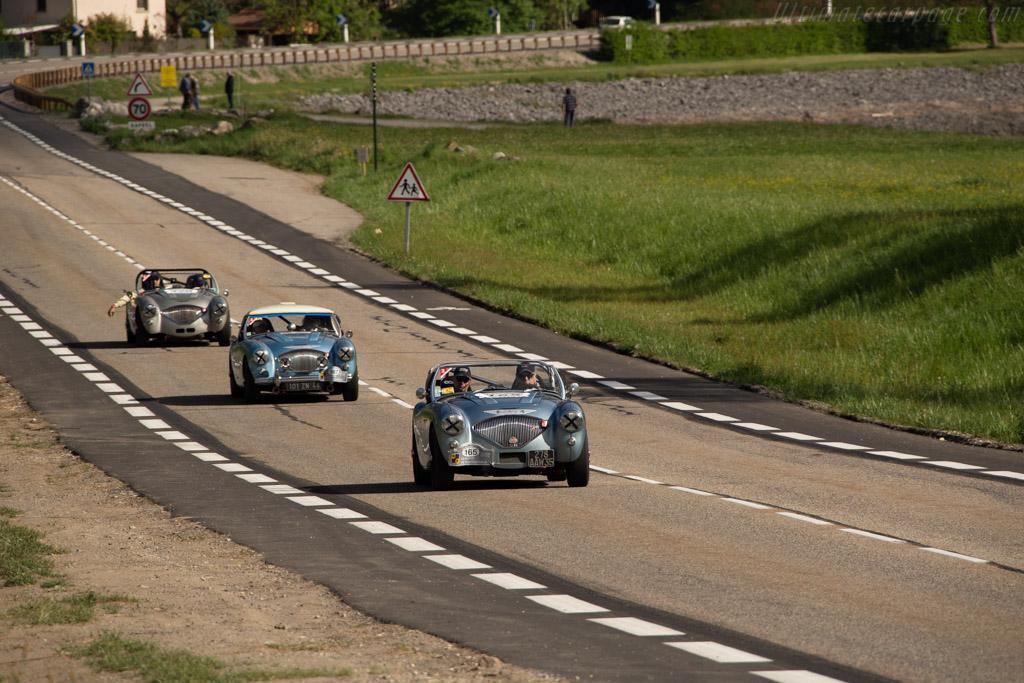 Austin Healey 100/4 - Chassis: BN2L230575 - Driver: José Da Rocha / Jean-Claude Hector  - 2018 Tour Auto