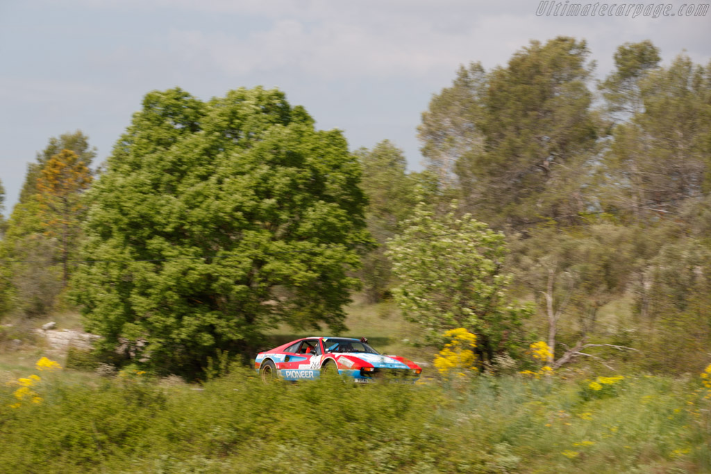 Ferrari 308 Gr IV Michelotto  - Driver: Amaury Latham / Didier Baud  - 2018 Tour Auto