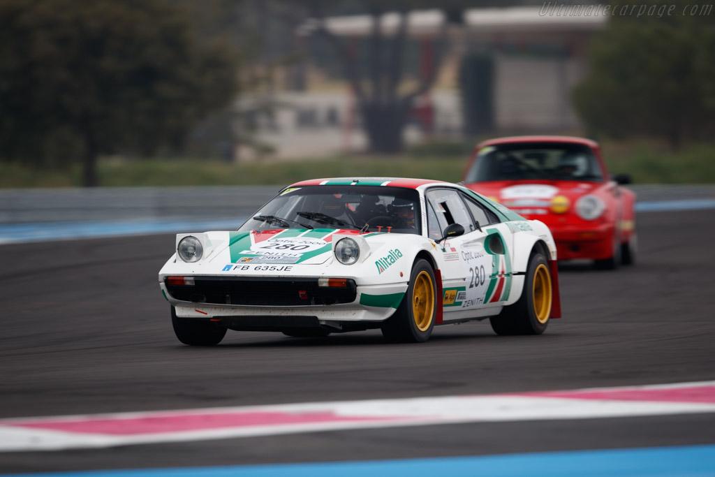 Ferrari 308 Gr.IV Michelotto Conversion - Chassis: 28817 - Driver: Benjamin Dessange / Philippe D'Agostino  - 2018 Tour Auto