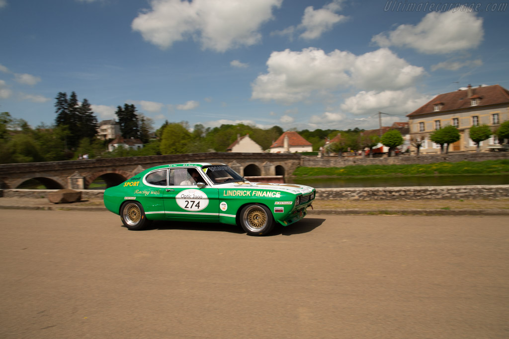Ford Capri 2600 RS - Chassis: BBECNS34576 - Driver: Geoffroy Peter / Raynald Hautot  - 2018 Tour Auto