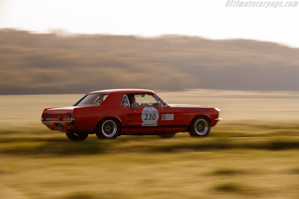 Ford Mustang - Chassis: 7TC1A119751 - Driver: Patrice Gras / Daniel Fargeot - 2018 Tour Auto