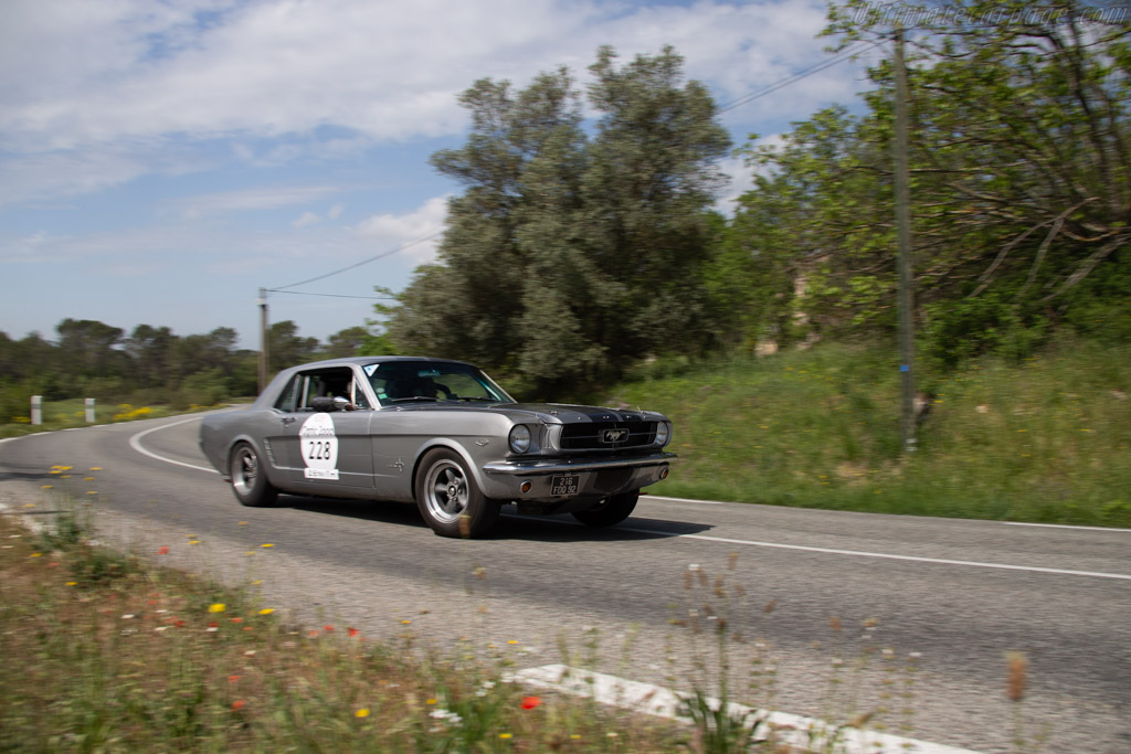 Ford Mustang 289  - Driver: Antoine Choque / Donald Choque  - 2018 Tour Auto