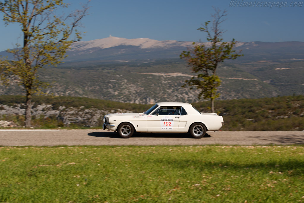 Ford Mustang 289  - Driver: Jean-Maurice Scharf / Patrick Piette  - 2018 Tour Auto