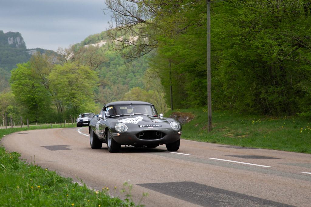 Jaguar E-Type 3.8 - Chassis: 878942 - Driver: Jean-Marc Rivet Fusil / Claude Le Jean  - 2018 Tour Auto