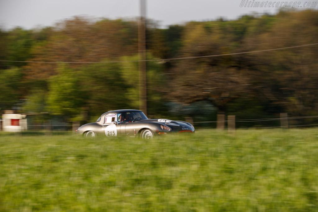 Jaguar E-Type 3.8  - Driver: Marc-Antoine Falcon De Longevialle / Charles Guyot  - 2018 Tour Auto