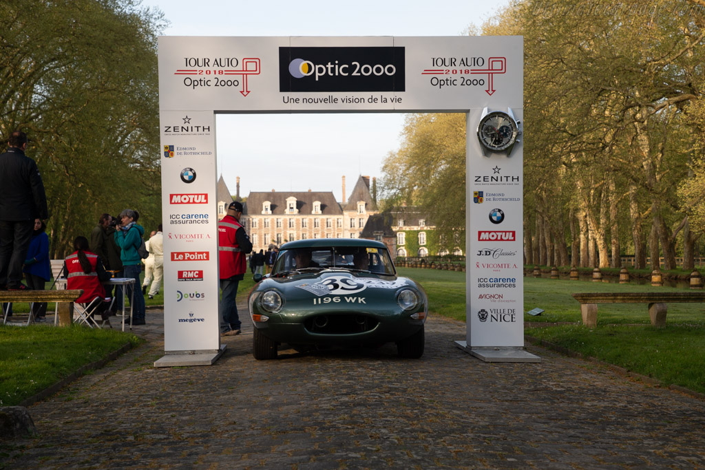 Jaguar E-Type 3.8 - Chassis: 850486 - Driver: Chris Ward / Andy Elcomb - 2018 Tour Auto