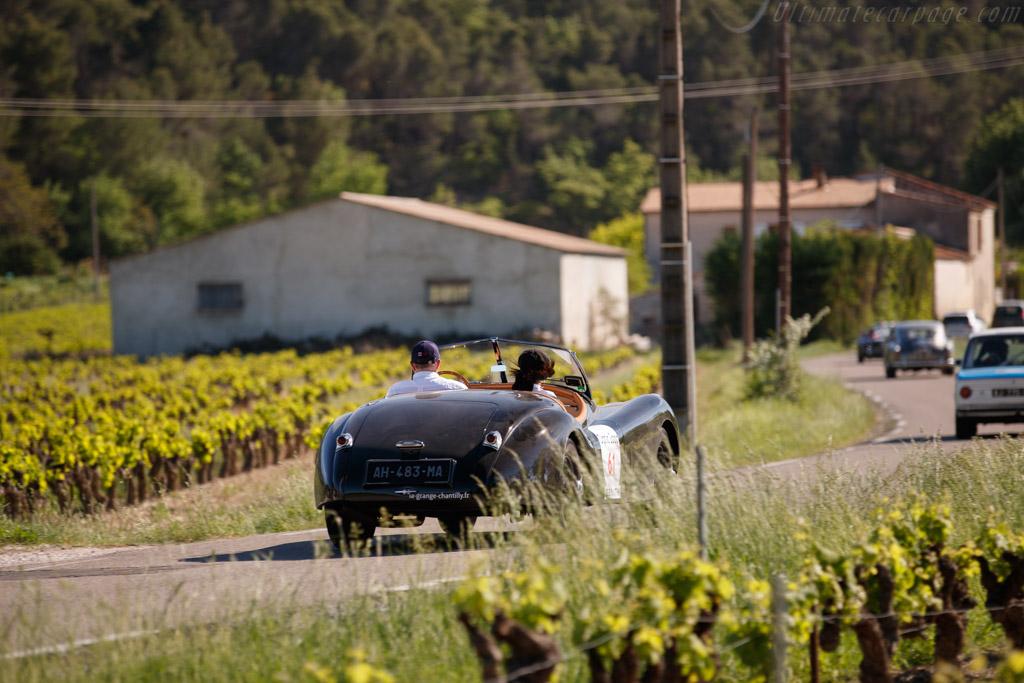 Jaguar XK 120 Roadster - Chassis: 670224 - Driver: Dominique Jouvin / Claudine Jouvin  - 2018 Tour Auto