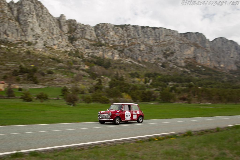 Morris Cooper S 1300 MKII  - Driver: Christophe Thiboult / Guy Paillon  - 2018 Tour Auto