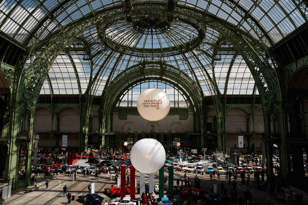 Welcome to the Grand Palais    - 2018 Tour Auto