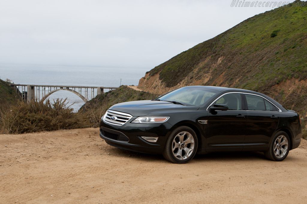 At the Bixby Bridge    - Ford Taurus SHO on Highway 1
