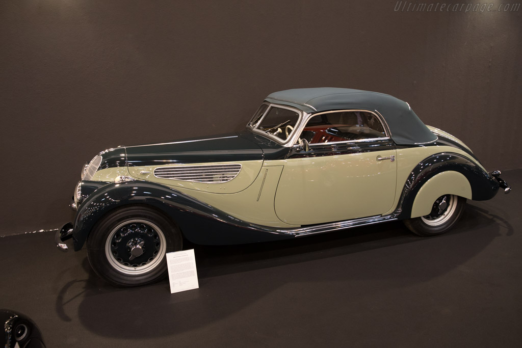 BMW 327/328 Sport Cabriolet - Chassis: 74402   - 2017 Techno Classica