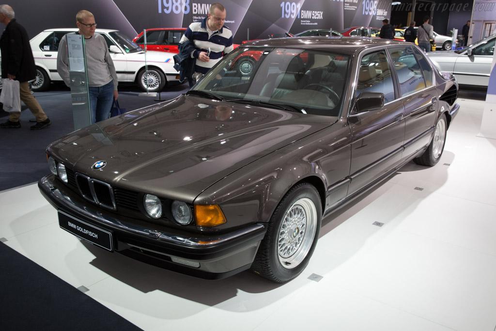 BMW 767i Goldfish V16    - 2017 Techno Classica