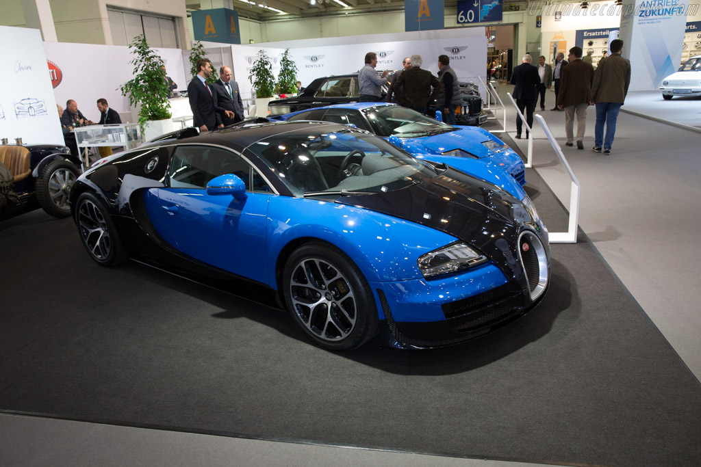 Bugatti Veyron    - 2017 Techno Classica