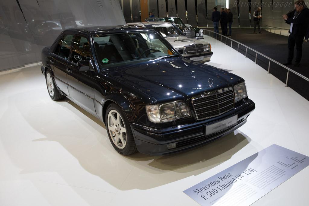 Mercedes-Benz E 500 Limited    - 2017 Techno Classica