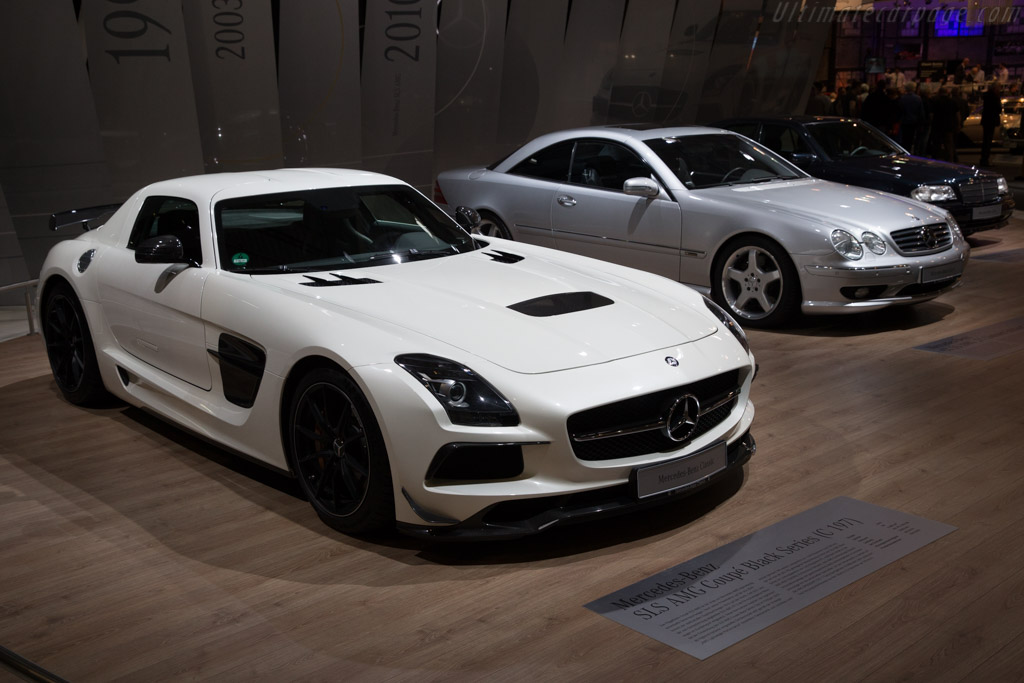 Mercedes-Benz SLS AMG Black Series    - 2017 Techno Classica