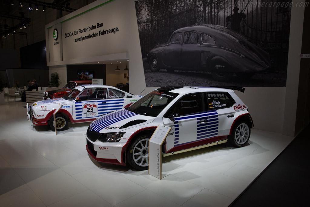 Skoda Fabia WRC    - 2017 Techno Classica