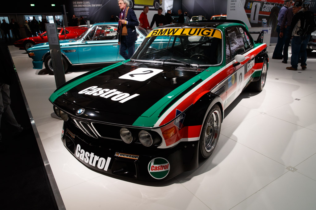 BMW 3.0 CSL Group 2  - Entrant: BMW Classic  - 2018 Techno Classica