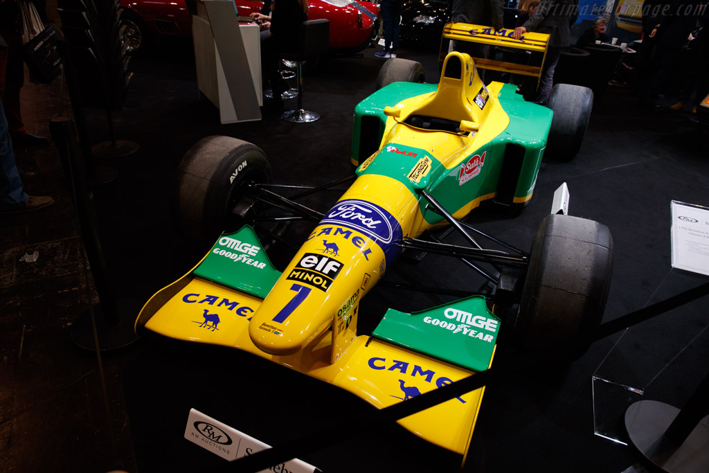 Benetton B192 - Chassis: B192-01   - 2018 Techno Classica