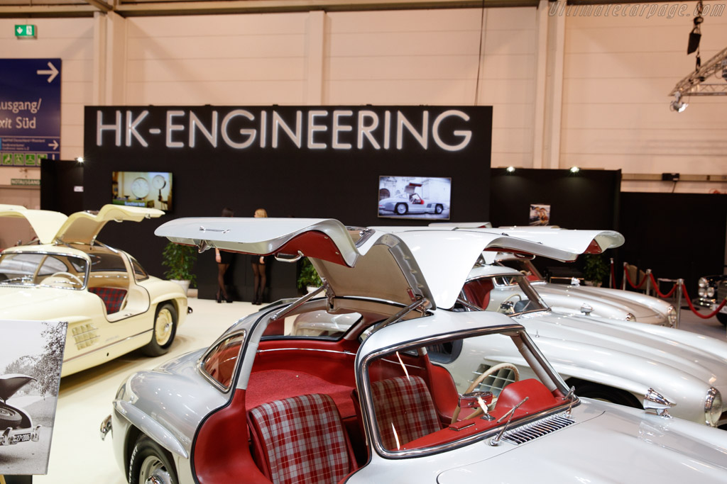 Mercedes-Benz 300 SL Gullwing  - Entrant: HK Engineering  - 2018 Techno Classica
