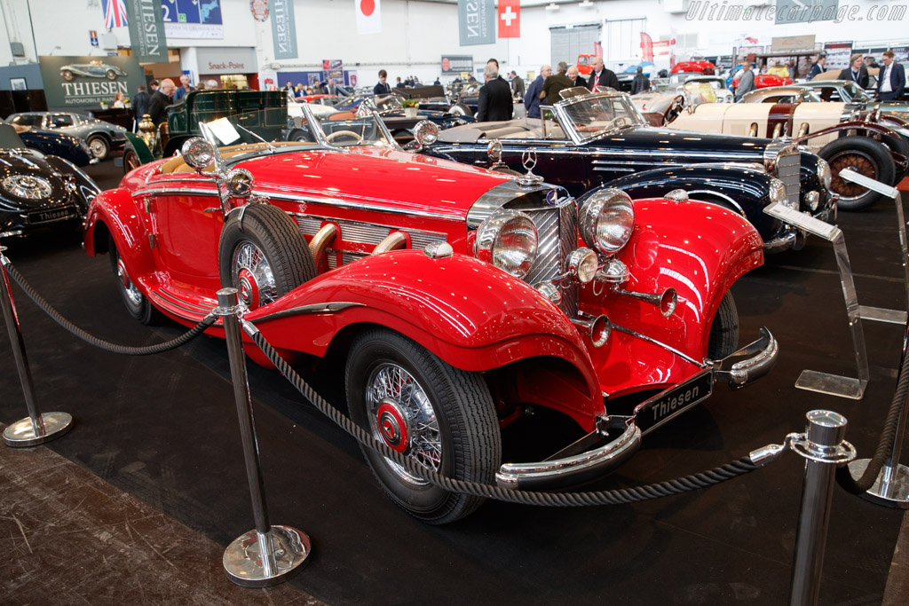 Mercedes-Benz 540 Spezial Roadster - Chassis: 154125 - Entrant: Thiesen  - 2018 Techno Classica