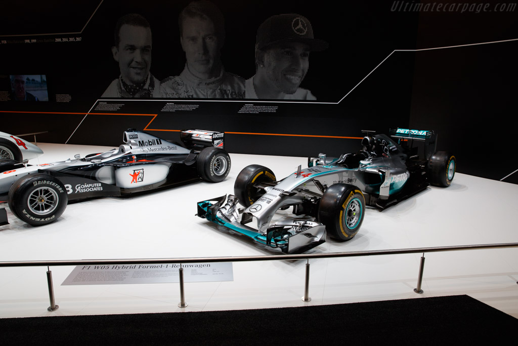 Mercedes-Benz W05    - 2018 Techno Classica