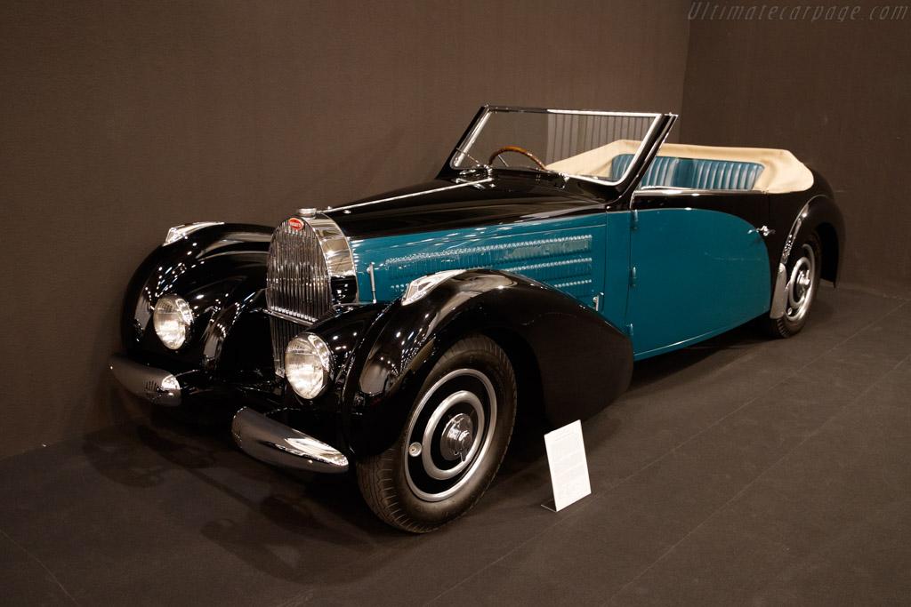 Bugatti Type 57 C Gangloff Stelvio - Chassis: 57597 - Entrant: Lukas Hüni - 2019 Techno Classica