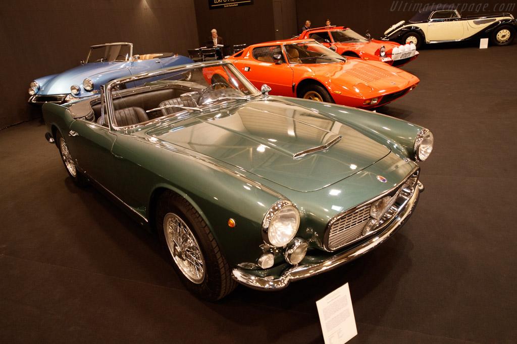Maserati 3500 GT Vignale Spyder - Chassis: AM101.1017 - Entrant: Lukas Hüni - 2019 Techno Classica